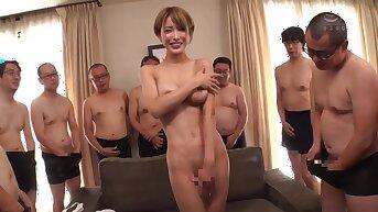Nipponese randy stunner hot sex membrane