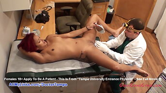 Lallapalooza Ducati's Gyno Exam By Doctor from Tampa Caught on Hidden Cams