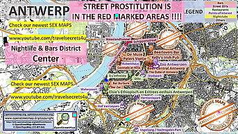 Antwerp, Belgium, Sex Map, Street Prostitution Map, Teen, Brothels, Whores, Escort, Threesome, Freelancer, Prostitutes