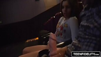 TEENFIDELITY Katya Rodriguez Mean Teen Creampie