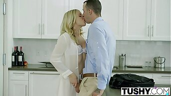 TUSHY Bosses Wife Karla Kush First Time eon Anal With the Office Assistant