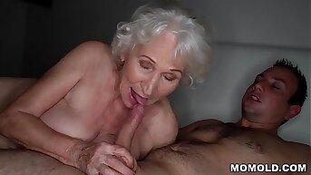 Be quiet, my husband's s.! - Tread granny porn ever!