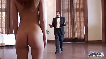 Teen Bustle Interview Turns into Intimate Inspection the Boss fucks say no to pussy