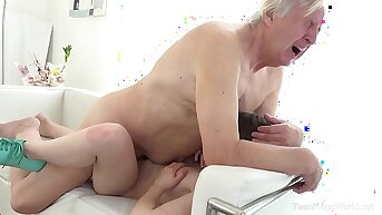 Old-n-Young.com - Luna Rival - Old man makes sweetie kneel