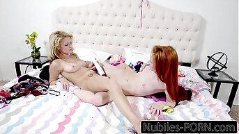 Dolly Little With an increment of Hope Harper Pussy Licking With an increment of Toys